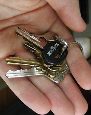 Keychain-without-car-keys